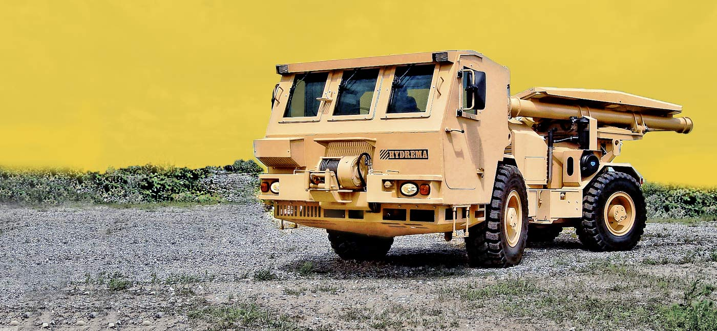Mine Clearing Vehicle